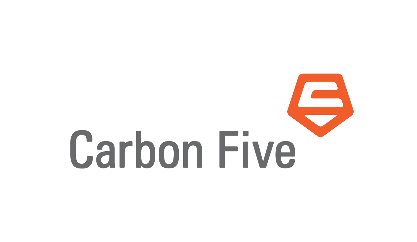 Write/Speak/Code sponsor Carbon Five logo