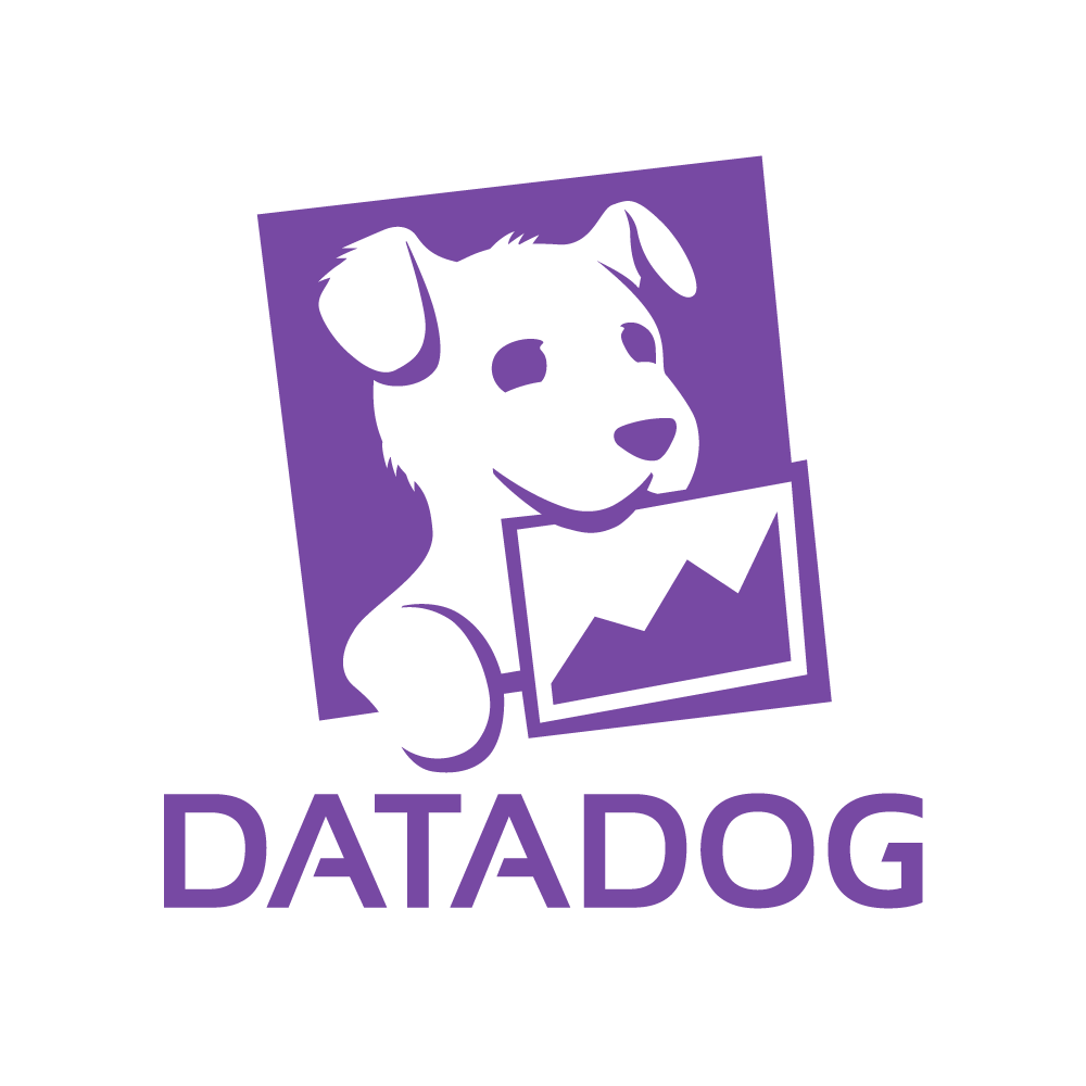 Write/Speak/Code sponsor Datadog logo