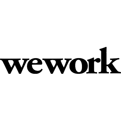 Write/Speak/Code sponsor WeWork logo